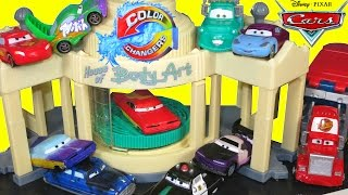 DISNEY PIXAR CARS COLOR CHANGERS TOYS RAMONE PAINT SPRAY BOOTH SALLY DOC WINGO COLORSHIFT