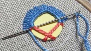 Hand Embroidery : Mirror Work || Shisha Work