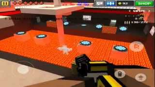 getlinkyoutube.com-Pixel Gun 3D - TEAM BATTLE - BEASTIN