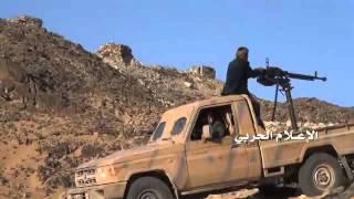 getlinkyoutube.com-شاهد: الجيش واللجان يتصدون لمرتزقة الاحتلال في معسكر الخنجر بالجوف ويدحرونهم