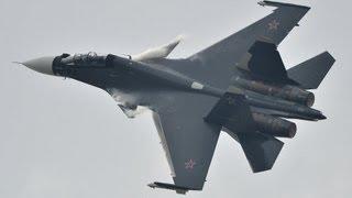 МАКС-2013: боевые вертолеты, лайнеры и новейшие истребители в воздухе - ЧАСТЬ 2