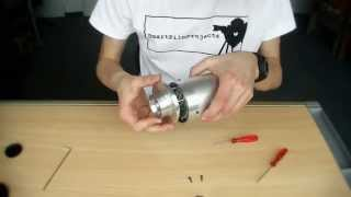 getlinkyoutube.com-Homemade Jet Engine 2.0 | construction phase 5