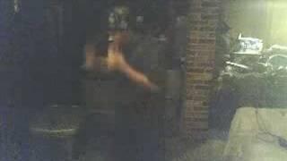 getlinkyoutube.com-Crazy Black Guy dancing to Techno