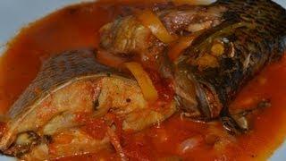 lanmoumou Dessi - sauce de poisson frais - fresh fish soup (cuisine togolaise)