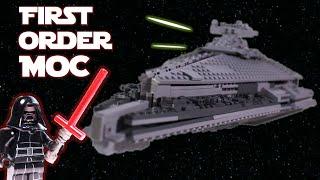 "LEGO Star Wars Ep. VII ""First Order Star Destroyer"" MOC"