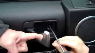getlinkyoutube.com-How to remove Front Door Card on Land Rover Discovery 3/LR3