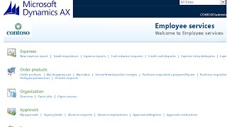 getlinkyoutube.com-Microsoft Dynamics AX 2012 - Purchase Requisition - Employee Self-Service Tutorial