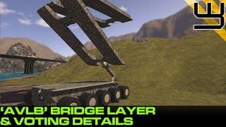 getlinkyoutube.com-Space Engineers - AVLB Bridge Layer & Comp Voting Details (Planet Comp)