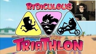 getlinkyoutube.com-A POR EL RECORD!!! - Ridiculous Triathlon -  [LuzuGames]