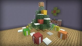getlinkyoutube.com-Minecraft Tutorial: How To Make A Christmas Tree