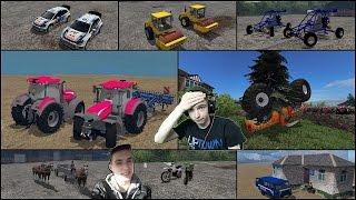 getlinkyoutube.com-Najdziwniejsze mody do Farminga#15 250KM/H KONIEM NA WSTECZNYM ! FARMING DRIFT !