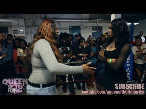 BABS & VAGUE presents QUEEN OF THE RING STREAMZ vs BONNIE GODIVA