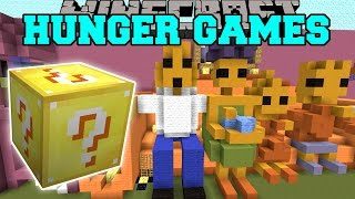 getlinkyoutube.com-Minecraft: THE SIMPSONS HUNGER GAMES - Lucky Block Mod - Modded Mini-Game