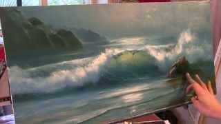 getlinkyoutube.com-Урок морского пейзажа маслом. Александр Южаков