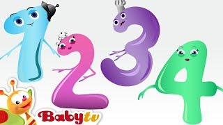 getlinkyoutube.com-Counting Song - Meet the Numbers 1 to 10 with Charlie & the Numbers | BabyTV