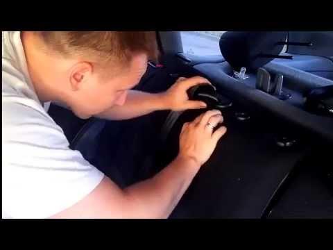 Peugeot 406 установка ремня безопасности