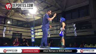 Jesus Barraza vs Shiloh Jackson Chicago Harrison Park Boxing Event