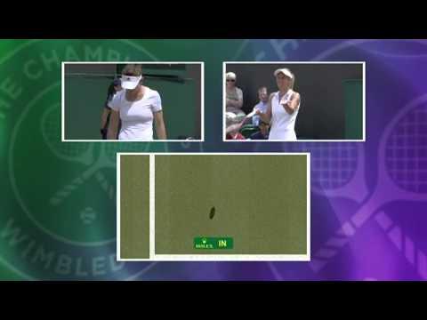Worst challenge ever? Lesia Tsurenko challenge fail - Wimbledon 2014
