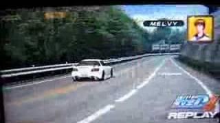 getlinkyoutube.com-Initial D 4 Melvy s2000 AKINA/DRY (replay)