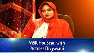 getlinkyoutube.com-MSR Hot seat with Actress Divyavani || No.1 News