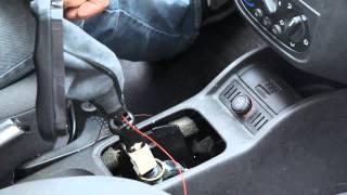 getlinkyoutube.com-Original ICT Schaltknauf Einbauhilfe Opel Corsa C Tutorial How To Change gear knob