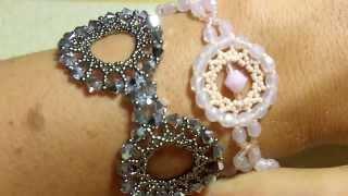 getlinkyoutube.com-Sidonia's handmade jewelry - Happy elegant bracelet