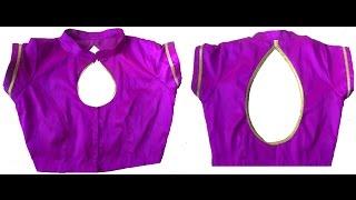 getlinkyoutube.com-Princess Cut Blouse with collar Stitching Part -2 (DIY)