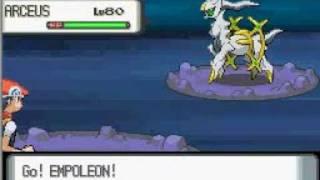getlinkyoutube.com-Pokemon Diamond/Pearl: The Ultimate Legendary Pokemon Arceus