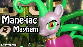 getlinkyoutube.com-MLP Mane-iac Mayhem 1 Origin – SDCC Comic Con Exclusive My Little Pony Toy Review/Parody/Spoof