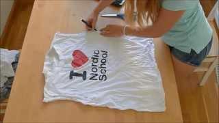 getlinkyoutube.com-Реконструкция старых футболок! 6 идей | Vera Belinskaya