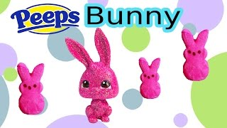 getlinkyoutube.com-DIY Custom LPS Easter Sugar Marshmallow PEEPS Bunny Chocolate Glitter Candy Littlest Pet Shop Craft