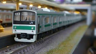 getlinkyoutube.com-鉄道模型(Nゲージ):アトリエminamo vol.39:205系 埼京線