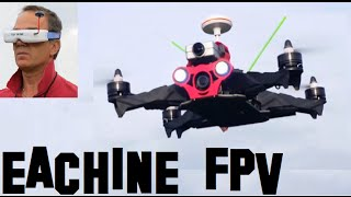 EACHINE FPV RACER 250 BANGGOOD - TESTS IN FOREST