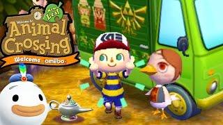getlinkyoutube.com-Animal Crossing: New Leaf - Welcome amiibo Update! - Medli RV Zelda Items - 3DS Gameplay Walkthrough