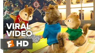 getlinkyoutube.com-Alvin and the Chipmunks: The Road Chip VIRAL VIDEO - Wreck the Halls (2015) - Comedy HD
