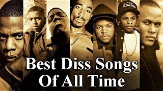 Top 50 - The Best Diss Tracks Of All Time [Rap Diss Songs & Battle Records]