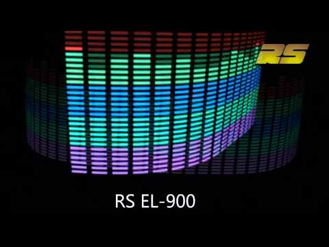 Графический эквалайзер-подсв етка на стекло RS EL-900