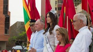 getlinkyoutube.com-Miss Universe, Paulina Vega returns to Colombia