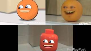 getlinkyoutube.com-Annoying Orange - Hey Apple ( Lego, Animated and comedy)