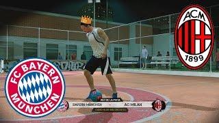 getlinkyoutube.com-Fifa Street Gameplay Xbox 360- Bayern Munich Vs A.C Milan El Rey de la Pista. Pura magia