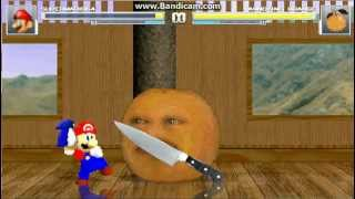 getlinkyoutube.com-TMS Mugen Battle #1 - Super Mario 64 vs Annoying Orange