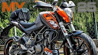 getlinkyoutube.com-My First Bike KTM Duke 125 Customized Motorcycle LucZyn MotoVlog | Mój Pierwszy Motocykl S01E07