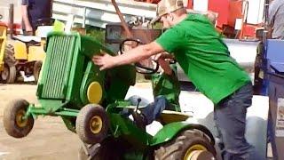 getlinkyoutube.com-Garden Tractor Pull at Fair - Washington County Agricultural Fair