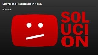 Como ver un vídeo bloqueado en tu país