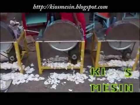 mesin perajang, pengiris, potong keripik singkong, pisang,kentang dan talas