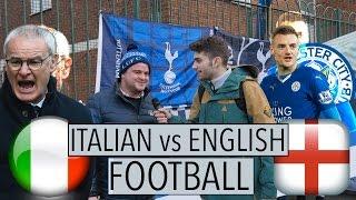 """getlinkyoutube.com-Domande a Londra: """"Cosa pensi del calcio italiano ?"""" -thepillow"""