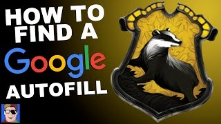 How to Find A Google Autofill