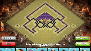 getlinkyoutube.com-[CoC] Barricade - INSANE Town Hall 8 War Base - Anti 2 Star/GoWiPe/Hogs/Dragons (with replays)