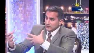 getlinkyoutube.com-لقاء باسم يوسف على قناة الحافظ السلفية كامل