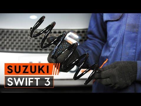 Как да сменим задна пружинно окачване наSUZUKI SWIFT 3 Хечбек (ИНСТРУКЦИЯ AUTODOC)